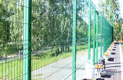 Сварной забор из профильной трубы под ключ в СПб | Цена | 311x479